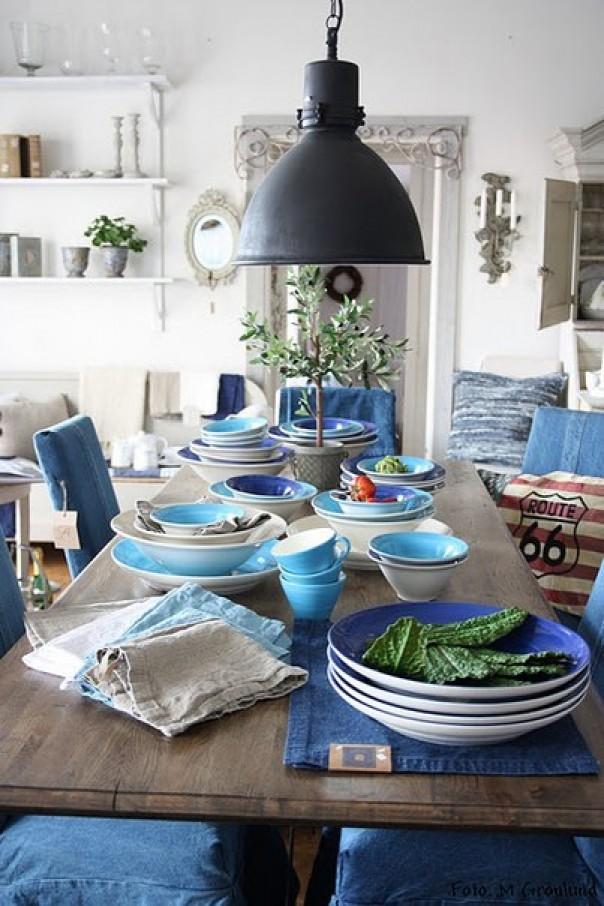 blauw het nieuwe jaar in – happy at home, Deco ideeën