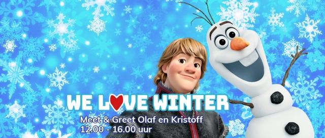 Olaf & Kristoff Site header met tekst2